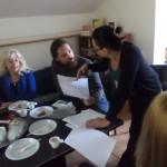 Meeting with New Volunteers
